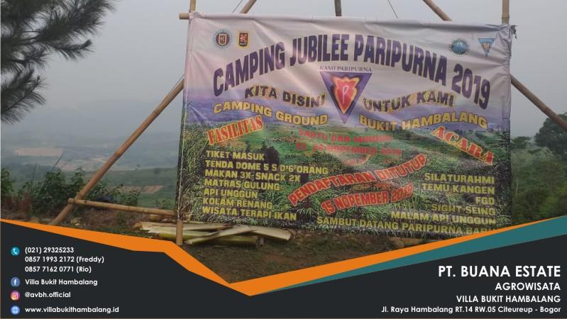 AREA CAMPING KETAPANG - VILLA BUKIT HAMBALANG 4